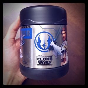 Star wars the clone wars thermos container